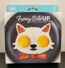 "Fred & Friends ""Funny Side Up"" Cat Silicone Egg Mold"