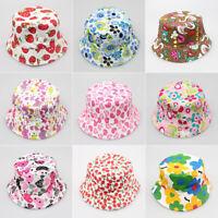 Kids/Boy/Girl's Bucket Hat Sun Protection Summer Sun Beach Cap Outdoor Hat AUS