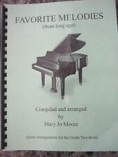 Mary Jo Moore Piano/Favorite Melodies from Long Ago/home school