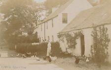 Postcard RP original Little Brunton  38