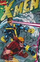 X-Men vol 2 #1 Cover E Comic Book - Marvel Wrap Cover Wolverine Cyclops