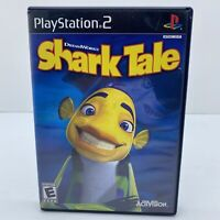 Shark Tale -  Sony Playstation 2 PS2 Complete W/Manual Complete Free Shipping