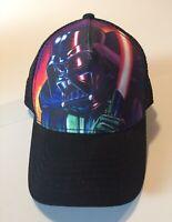 Star Wars Snapback Trucker Hat Darth Vader Adjustable ~Fire~