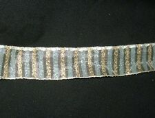 Ancien large ruban, galon, mercerie - linge ancien