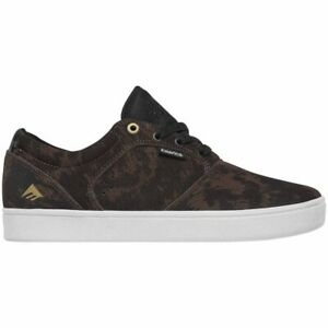 Emerica Figgy Dose Skate Shoe Men's Size 11.0 Skateboarding Stay Gold Brown