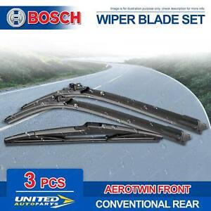 Bosch Aerotwin Plus Wiper Blade Set for Citroen C4 Grand Picasso B78 8/2016-2020