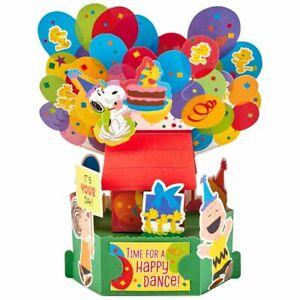Birthday Card- Peanuts® Happy Dance Pop Up Birthday Card