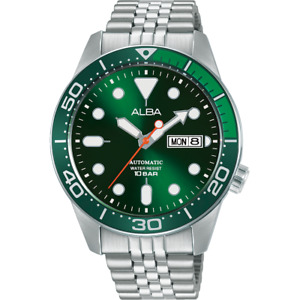Alba Active Men's Automatic Watch with Green Dial AL4187X1