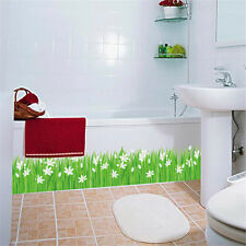 Flower Corner Line Room Decor Removable Wall Sticker Decal Decoration Wandtattoo