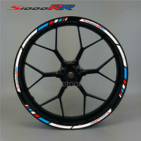 S1000RR motorcycle reflective wheel decals rim stickers stripes bmw s1000 RR hp4