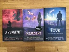 Divergent, Insurgent and Four - Veronica Roth YA book collection
