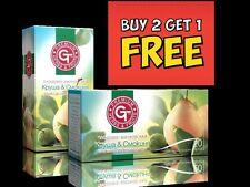 Achetez 2 obtenez 1 gratuit par gt 100% naturel à base de plantes à fruits thé poire & fig 20 sachet