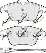 FRONT BRAKE PADS FOR PEUGEOT 508 GENUINE APEC PAD1824