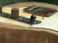Vintage 1953 Fender Telecaster Esquire Pat # Orig Pickup Switch Tip REAL DEAL