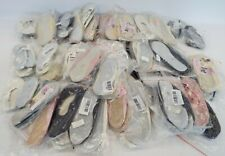 48 x Pairs Of Ballet Shoes Assorted Colours And Sizes NEW AND SEALED - W24