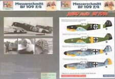H-Model Decals 1/48 Messerschmitt Bf-109F/Messerschmitt Bf-109G Jabo Units # 480