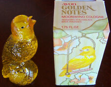 "Vintage 1979 Avon ""GOLDEN NOTES"" Songbird Moonwind Cologne FULL 1.75 oz. - NEW!"