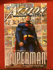 ACTION COMICS 80 YEARS OF SUPERMAN HC SIGNED JIM LEE MEGACON #1000 1ST PRINT DC