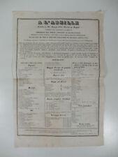 A l'Abeille. Toledo n. 93, Napoli, Vendita all'ingrosso vini e liquori, 1853