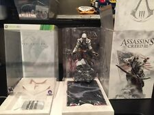 Assassin's Creed III Limited edition Xbox 360  Conner STATUE IS NEW Missing GAME