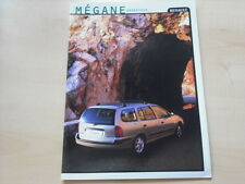 52225) Renault Megane Grandtour Prospekt 03/1999