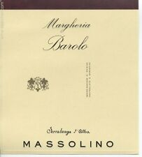 6 BT. BAROLO DOCG  MARGHERIA 2013 MASSOLINO