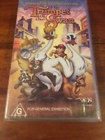 THE TRUMPET OF THE SWAN  -  VHS VIDEO