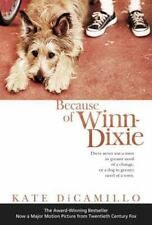 Because of Winn-Dixie by Kate DiCamillo (2004, Paperback, Movie Tie-In)