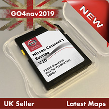 NEW! NISSAN CONNECT 1 V10 LCN1 SD CARD MAP NAVIGATION MAP UK & EUROPE 2020 2021