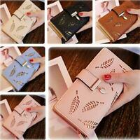 Women Lady Clutch Leather Wallet Long Card Holder Phone Bag Case Purse Handbags