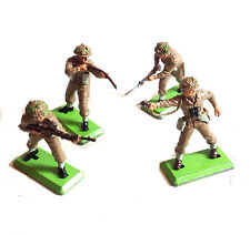 VINTAGE Britains 1:32 i paracadutisti britannici modello GIOCATTOLI soldati 70's -80's