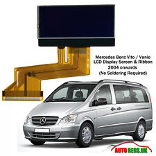 MERCEDES BENZ VITO VANIO LCD VDO DISPLAY SCREEN for INSTRUMENT CLUSTER DASH NEW