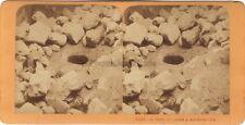Naplouse Puits de Jacob Terre Sainte Religion Stereo J. Andrieu Albumine c1870