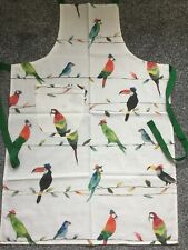 Cooks Apron With Patch Pocket. Full Length Apron / Ladies Pinny