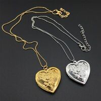 Box Jewelry Love Photo Frame Necklace Heart Necklace DIY Jewelry Rose Pendant