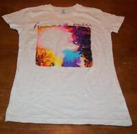 """WOMEN'S TEEN JR'S FLORENCE & THE MACHINE """"FADED"""" T-shirt SMALL NEW"""