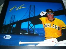 Jose Canseco SIGNED Oakland Athletics A's 8x10 Photo Bash Brothers (Beckett COA)