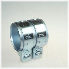 1x BayWorld Auspuff Universal Rohrverbinder 70x74,5x80mm Doppelschelle 70x80mm