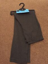 Brand New Light Grey Flat Front School Trousers.Debenhams.10 Years