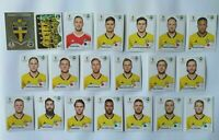 Panini WM 2018 Schweden Sweden Team Complete Set World Cup WC 18
