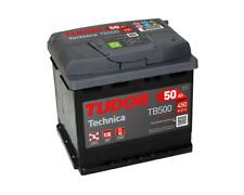 BATERIA COCHE TUDOR TECHNICA TB500 / 50Ah 450A 12V