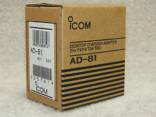 Icom AD-81 Desktop Charger Adapter Cup fits BC-119N 01 & BC-121N F3/F4/T2A/T2E