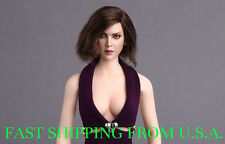 NEW 1/6 Female Head Sculpt Short Hair For Hot Toys Phicen Verycool ❶USA SELLER❶