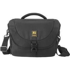 NEW Ruggard Journey 44 DSLR Shoulder Bag (Black) Front Zippered Pocket