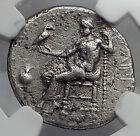 PHILIP III Macedonia Ancient Silver Greek Coin Alexander the Great NGC i60103
