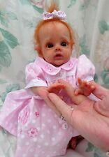 "Reborn baby MINI FLOWER FAIRY POPPY 12"" 2lb JosyNN Fantasy Josy Newborn Nursery"