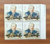 GB 1986 - Sir Arthur Harris & The Lancaster RAF 31p Stamps x4 - MNH Free Post