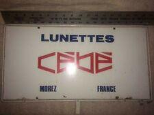 Vintage CEBE Lunettes Morez France Display Stand Sign 1970s