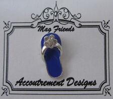 Accoutrement Designs Flip Flop Sandal Blue Needle Minder Magnet Needlepoint