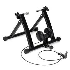 Foldable Magnetic Indoor Turbo Trainer 8 Level Resistance Road Bike Training